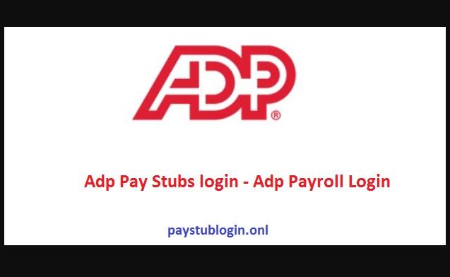 Adp Pay Stubs login