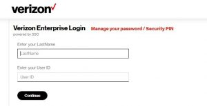Verizon Pay Stub Login forgot password 2