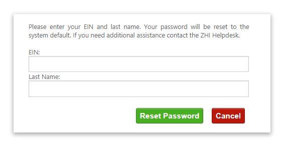 Zachry pay Stub Login forgot password 2