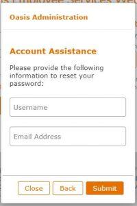Oasis Pay Stub Login Forgot Password