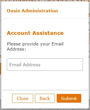 Oasis Pay Stub Login Forgot Username
