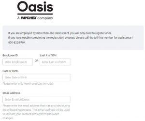 Oasis Pay Stub Login Sign Up