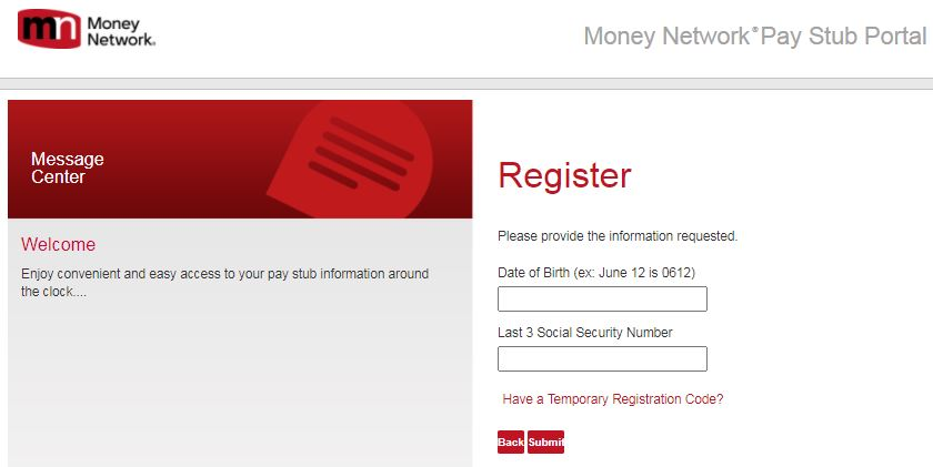 PHC Pay Stub Login New User