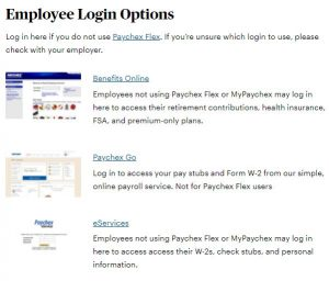 Paychex Pay Stub Login Portal
