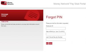 Sonic Pay Stub Login Reset Password