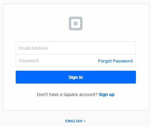 Square Pay Stub Login Page