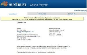 SunTrust Pay Stub Login Portal