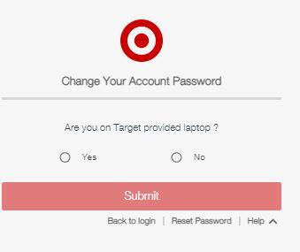 Target Pay Stub Login change password