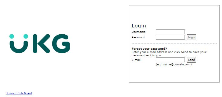 UKG Pay Stub Portal Login
