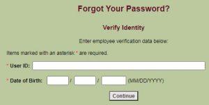 USDA Pay Stub Forgot Password
