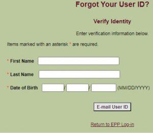 USDA Pay Stub Login Portal Forgot User ID