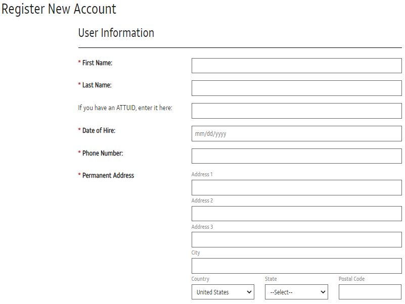 AT&T Pay Stub Login New Account
