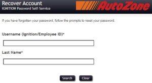 Autozone Pay Stub Login Forgot Password