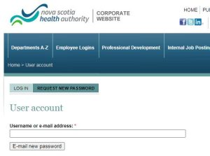 NSHA Pay Stub Login Reset Password